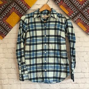Vineyard vines plaid flannel